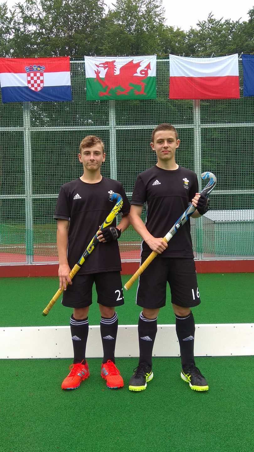 Charlie  Will following win against Croatia in Eurohockey 5s