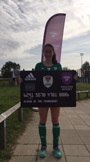 Sophie Gorman - Player of the Tournament - Futures Cup Aug 17