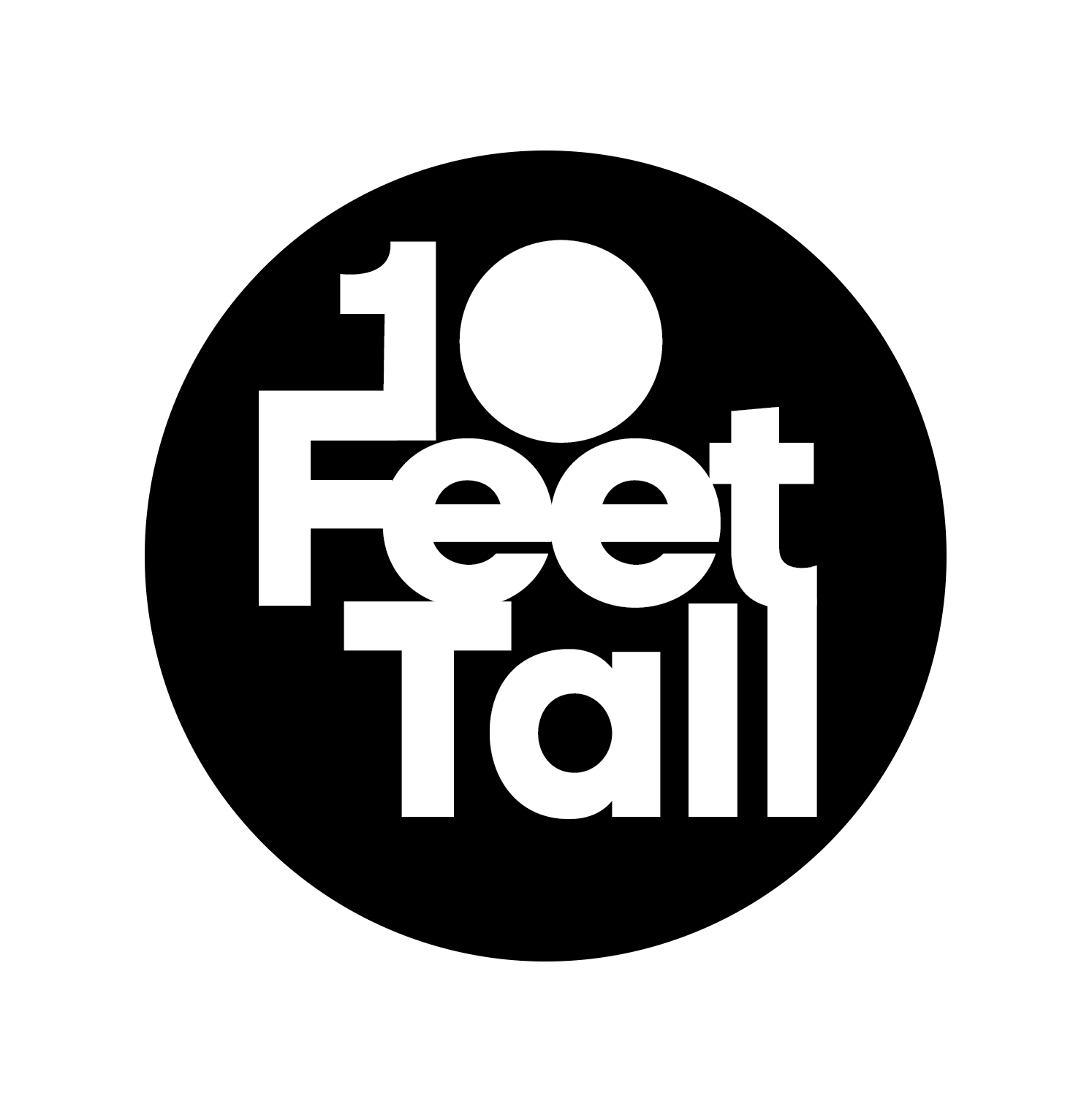 10 Feet Tall Sponsor Logo
