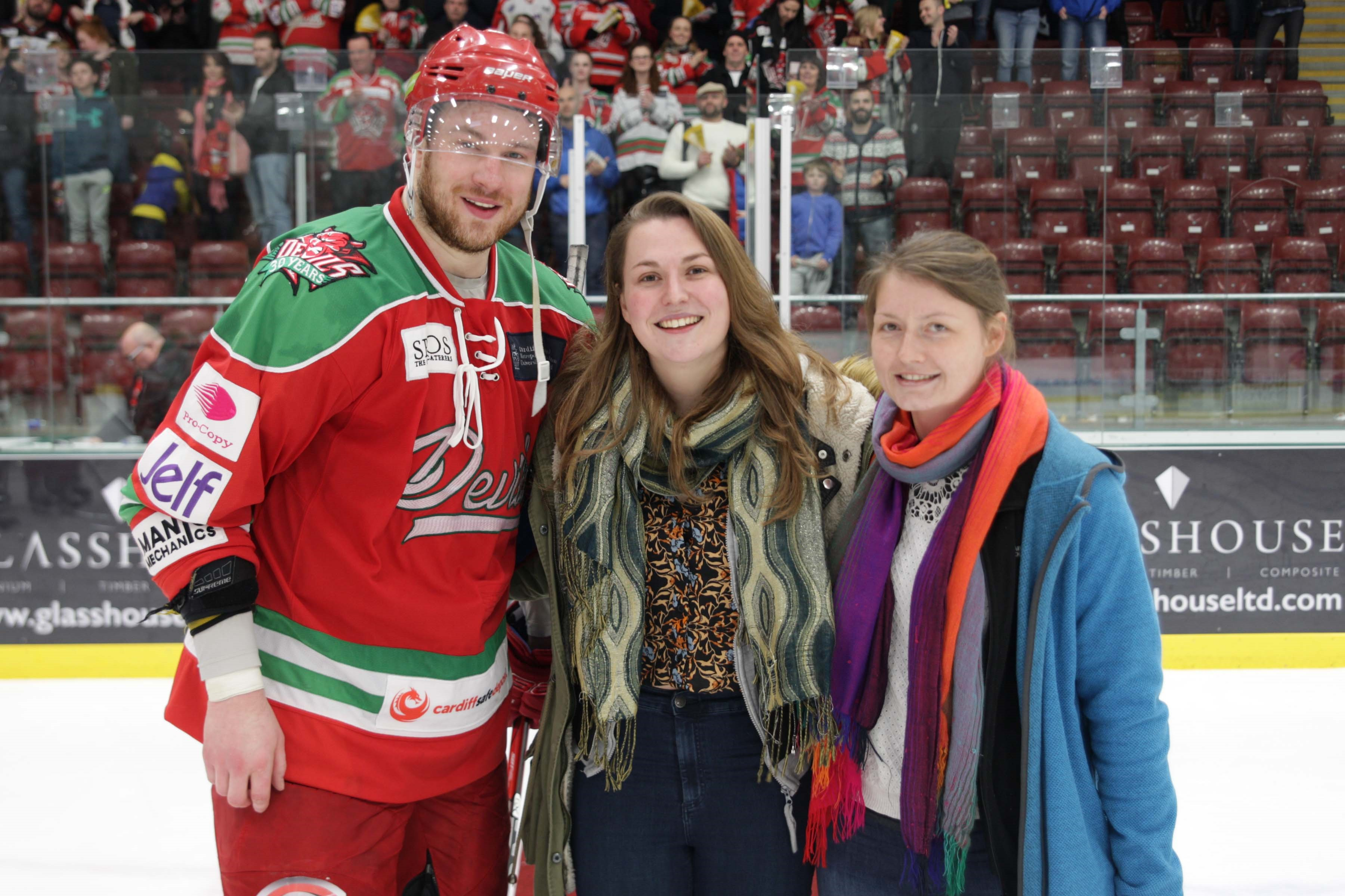 MOTM storm 2 Photo Cardiff Devils